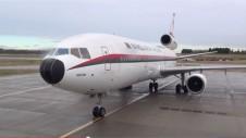 Biman DC-10 farewell flight