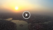 Bird's Eye view of Dhaka City through FPV