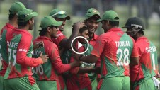 Bangladeshi Cricketer Taijul Islam becomes the first ever ODI player to get hat-trick on Debut.