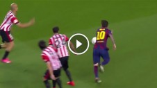 Lionel Messi - greatest goal copa del final