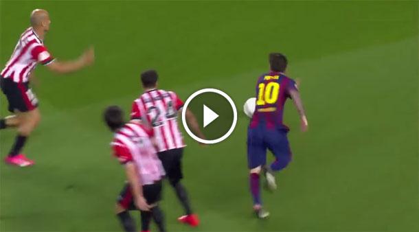 Lionel Messi - greatest goal copa del final
