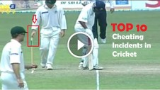 top cheating incidents in cricket history