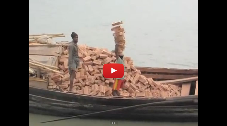 Brick Stacking Bangladesh