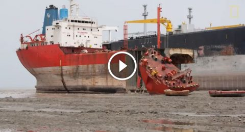 Nat Geo Documentary on Ship Breaking Yard in Bangladesh