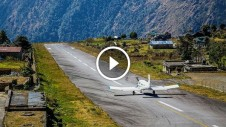 Lukla Airport Nepal, most dangerous airport in the world
