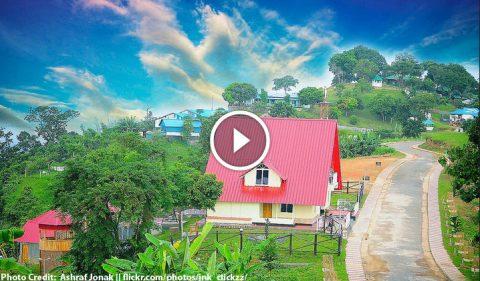 Beautiful Sajek Valley, Rangamati - Queen of hills