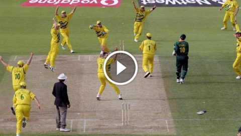 South Africa vs Australia Semi final cricket world cup 1999
