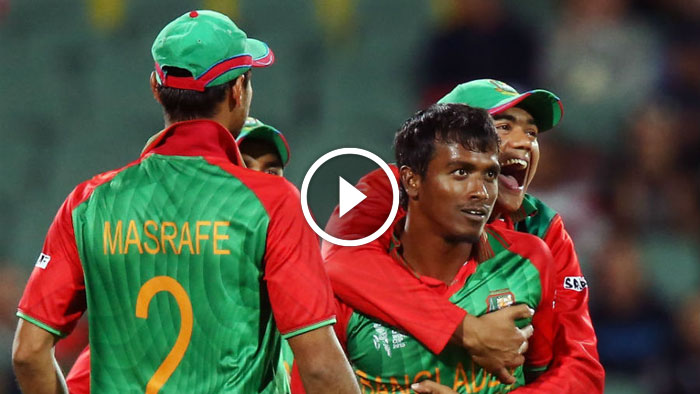 Rubel's Last over in Bangladesh vs England World cup match
