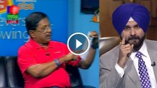 Sidhu was banned from Commentary panel in 2011