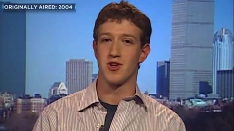 mark zuckerberg discussing facebook thefacebook on cnbc on 2004 that had 100000 users