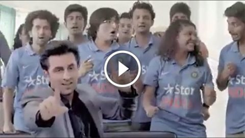 mauka leaked video of Ranbir kapoor - india vs new zealand final