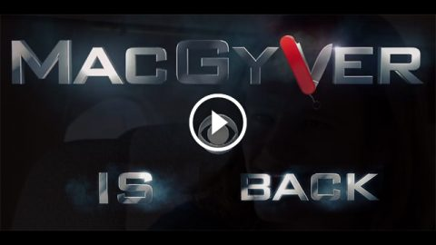 your favorit Macgyver is back - tv series