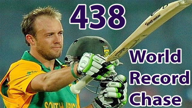 world-record-score-chase-438-in-cricket-history-ever-cricket-highlights