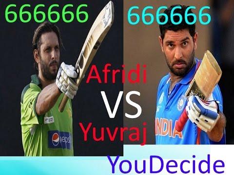shaid-afridi-666666-over-vs-yuvraj-singh-666666-over-you-deceide-cricket