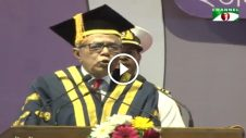 funny speech by president abdul hamid dhaka university convocation 2017