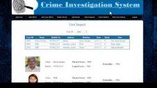 Criminal Investigation Tracker with Suspect Prediction