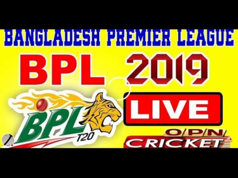 Live cricket Bangladesh Premier League BPL 2019 Comilla Victorians vs Sylhet Sixers