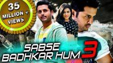 Sabse Badhkar Hum 3 (Chinnadana Nee Kosam) 2018 Hindi Dubbed Full Movie   Nithin, Mishti, Nassar