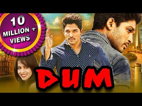 Dum (Happy) Telugu Hindi Dubbed Full Movie | Allu Arjun, Genelia D'Souza, Manoj Bajpayee