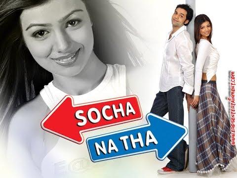 Hindi Romantic Movie   Socha Na Tha Full Movie   Abhay Deol   Ayesha Takia  Bollywood Romantic Movie