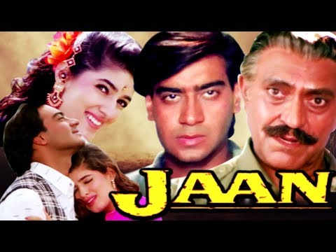 Hindi Romantic Movie   Jaan   Full Movie   Ajay Devgan   Twinkle Khanna   Bollywood Romantic Movie