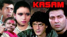 Kasam | Full Movie | Sunny Deol | Naseeruddin Shah | Chunky Pandey | Neelam | Hindi Action Movie