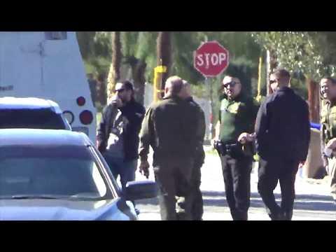 Yucaipa PD crime scene investigation