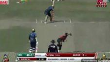 27 Run with 6 ball in ahammed zaza।। BPL Cricket 2019