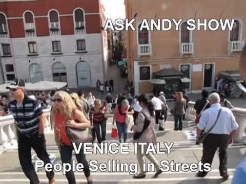 Venice Italy is Full of Bangladesh and Other Immigrants