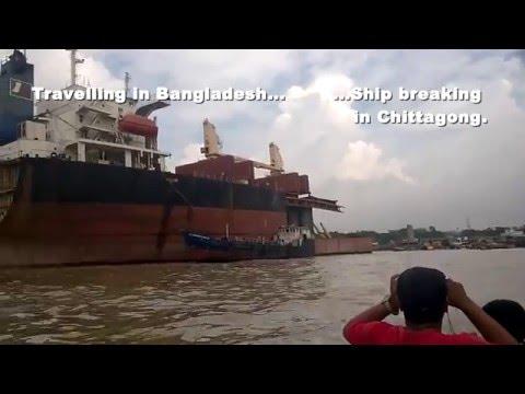 Reisen in Bangladesch. Die Abwrackwerften von Chittagong I.
