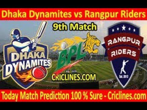 BPL Live | Dhaka Dynamites vs Rangpur Riders, 9th Match – Live Streaming