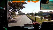 Ena bus travel Dhaka to feni. Enjoy the Bangladesh