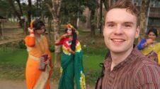 WEARING A BANGLADESH PANJABI FOR THE FIRST DAY OF SPRING (POHELA FALGUN) 🇧🇩
