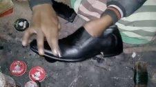 Super Fast Cobbler Working Skill In Bangladesh | Super fast workers | shoemaker | Bangladesh Express