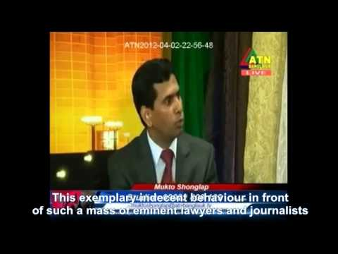Barrister Tajul Islam Comments on Investigation[Sub] – March 30, 2013