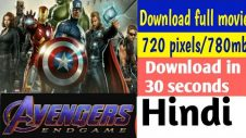 30 Seconds Only | How To Download Avengers Endgame Full Movie In Hindi
