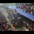 The Most Crowded Train In The World- Bangladesh Railway (Must See)