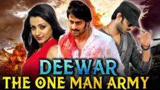 Deewar The One Man Army (Bujjigadu) Hindi Dubbed Full Movie | Prabhas, Trisha Krishnan