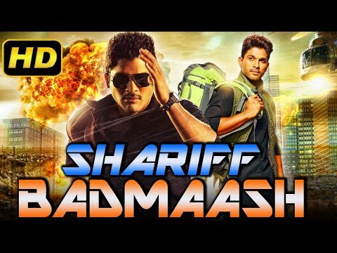 Shariff Badmaash (2018) Telugu Hindi Dubbed Movie | Allu Arjun, Arya, Bhanu Sri Mehra