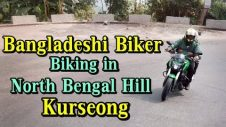 Bangladeshi Biker Biking at Kurseong | Foreigner Bike Ride in Kurseong North Bengal Hill Road