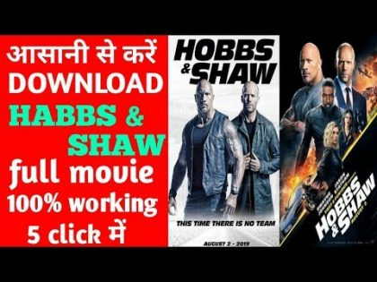 HOBBS & SHAW full movie hindi dubbed |AKP VIDEOS | how to downlode hobbs & shaw. |