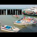 Most attractive view while travel saint martin island bangladesh