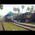 Bandhan Express Vs Maitree Express / India Bangladesh Train Service / WDM-3A Loco with IR LHB Rake