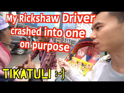 Hello Dhaka! 🇧🇩Crazy Rickshaw Ride in Bangladesh, Solo Travel Vlog