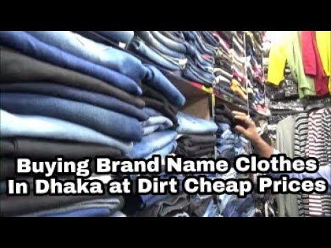 Buying Brand Name Clothes in Dhaka at dirt cheap Prices | Bangladesh | 29N17 Day 4B