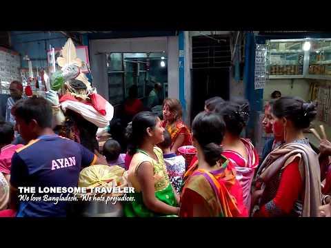 Reisen in Bangladesch. Dhaka, Hindu Street oder Shankhari Bazar.