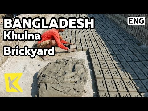 【K】Bangladesh Travel-Khulna[방글라데시 여행-쿨나]벽돌 공장/Sundarbans National Park/Brickyard/Village/Brick/Mud