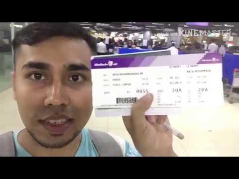 BANGLADESH TO MALAYSIA (MALINDO AIR Boing737) TRAVEL VLOGS