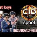 CID Bengali// cid spoof in bengali // crime investigation department