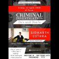 CRIMINAL INVESTIGATION DO'S & DON'TS